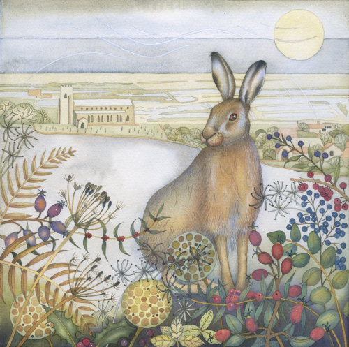 Salthouse Hare (print)
