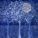 'Solstice Night'. Digital collage from original paintings.