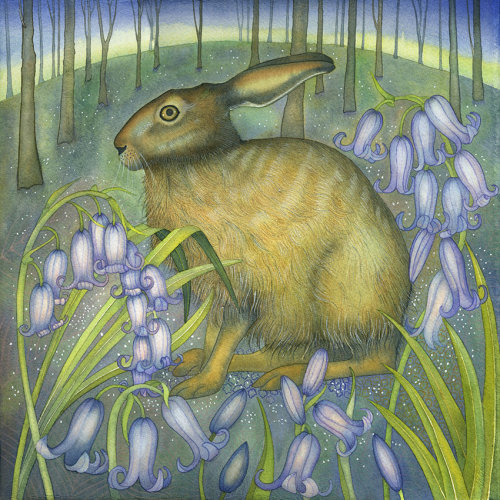 The Bluebell Hare (Dry Red Press)