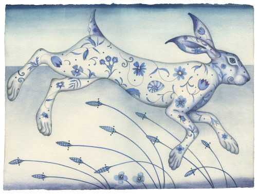 The Illustrated Hare (print)
