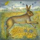 Winterton Hare (print and card)