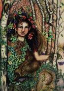 Flora (book illustration).
