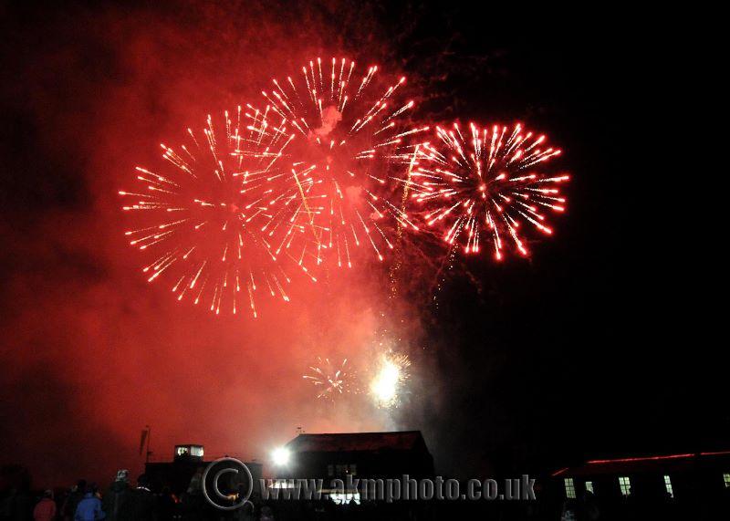 East Kirkby Fireworks 2012