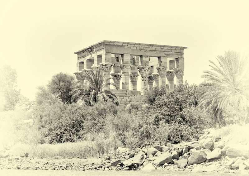 Philae Temple of Isis
