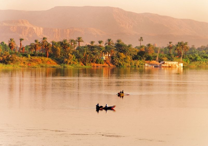 River Nile dawn