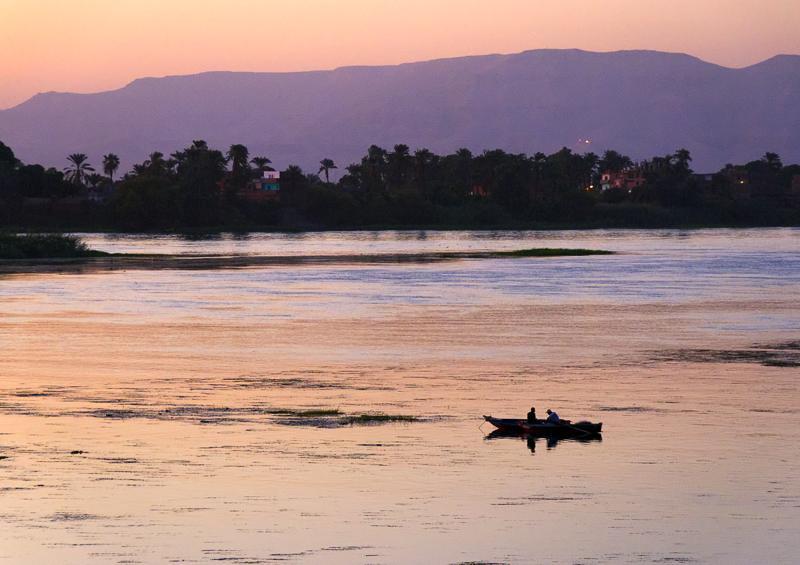 River Nile sunset