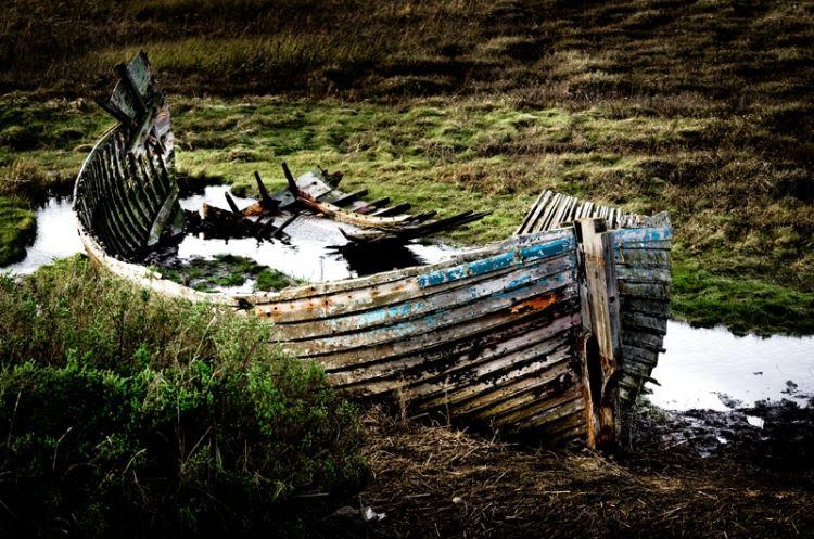 Boat, Blakeney, Norfolk