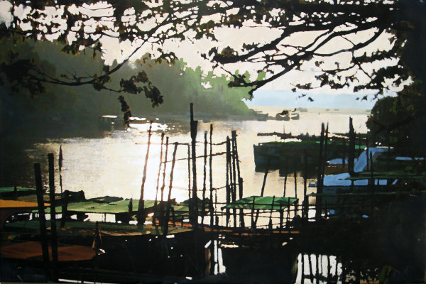 Dawn on Nerul River