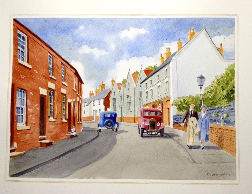 Bradley Street, Uttoxeter