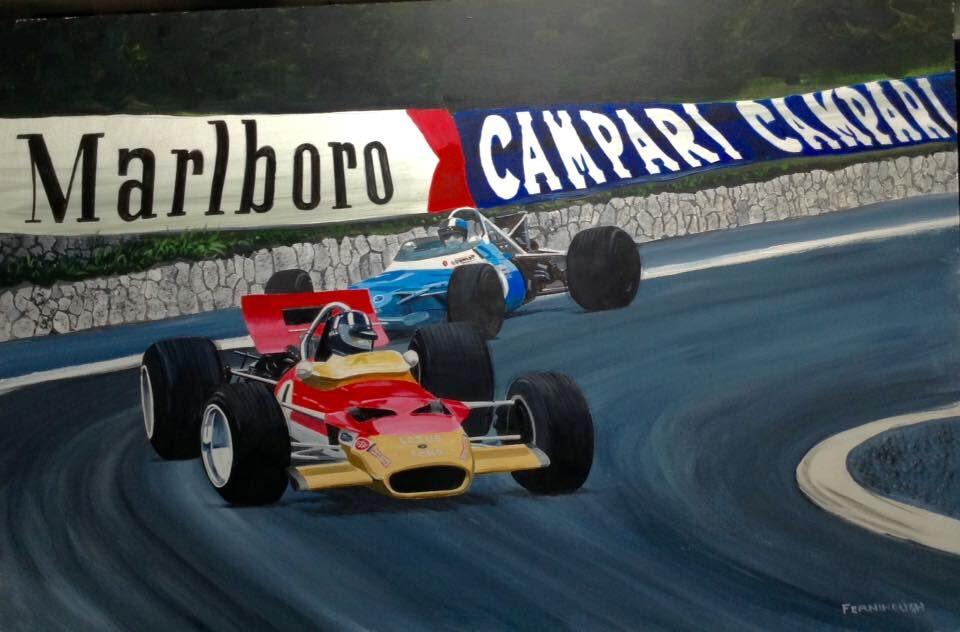 Graham Hill, Monaco 1969