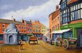 Uttoxeter Market place 1905