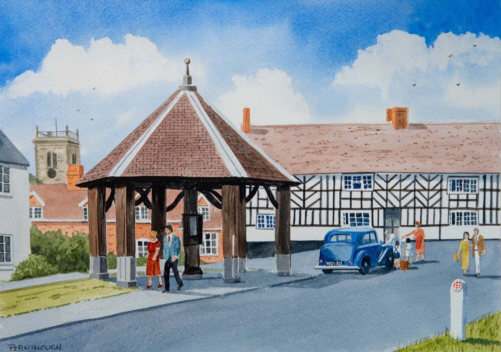 The Buttercross, Abbots Bromley