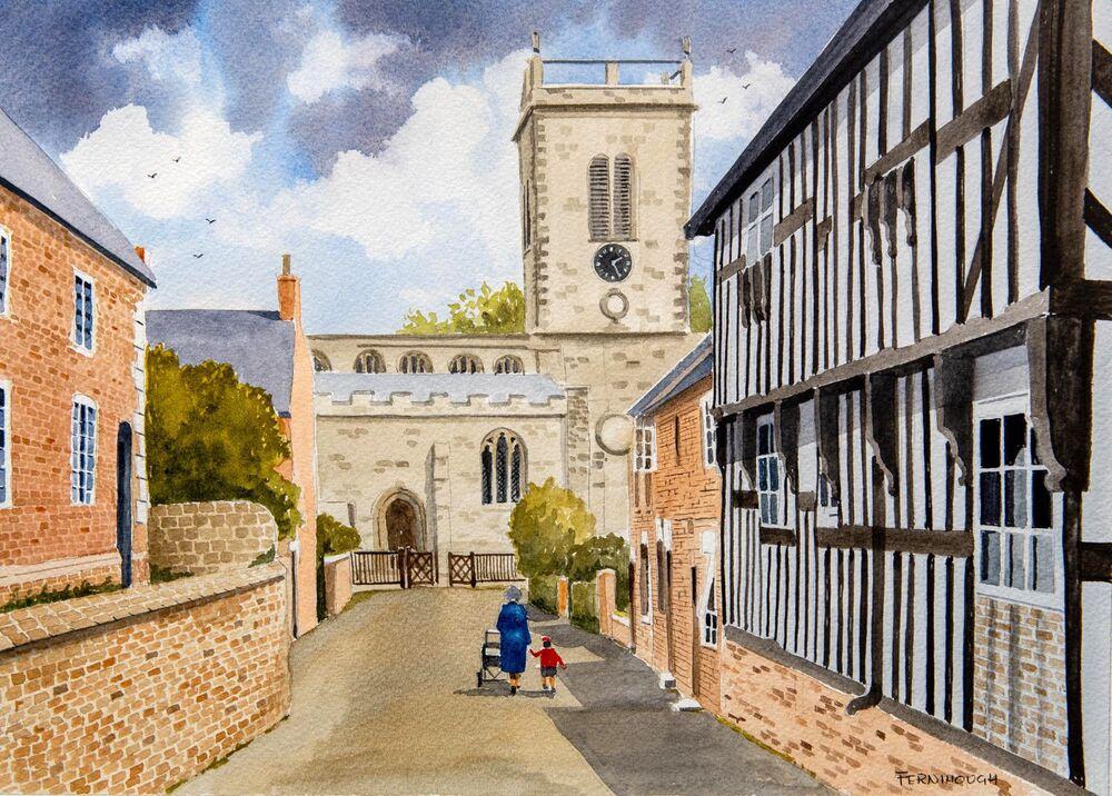 Church Lane, Abbots Bromley
