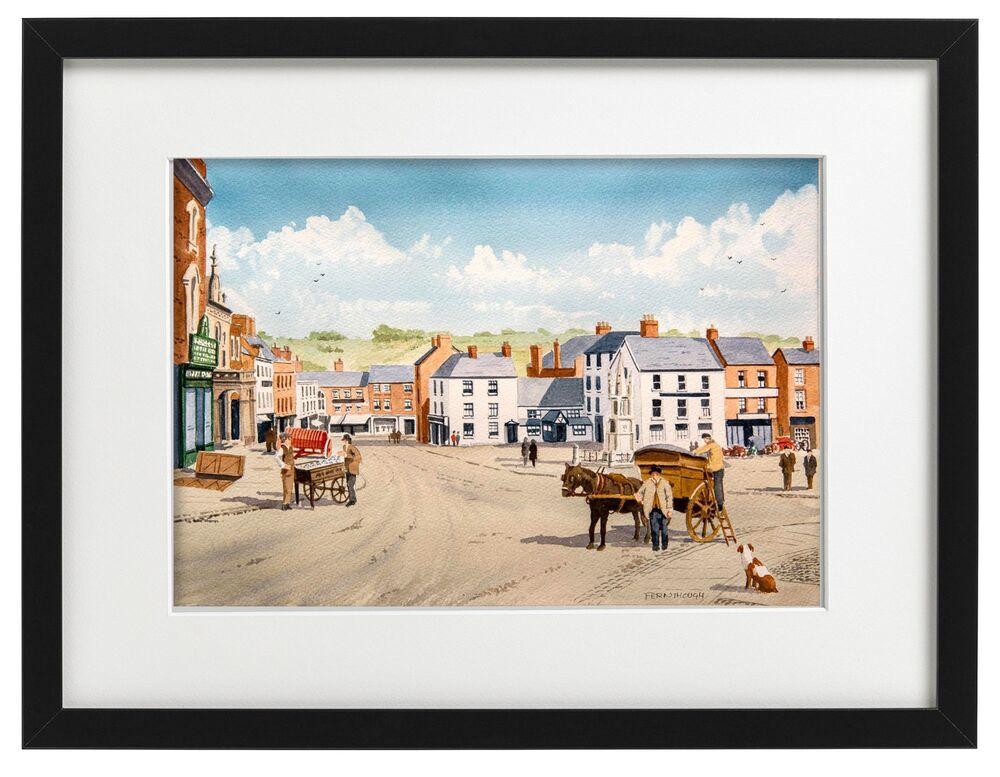 Ashbourne Market Place Carts