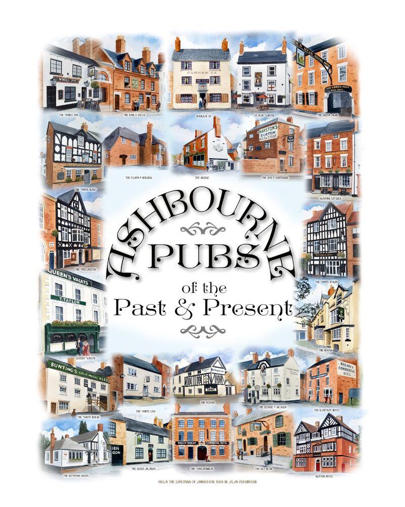 Ashbourne Pubs poster
