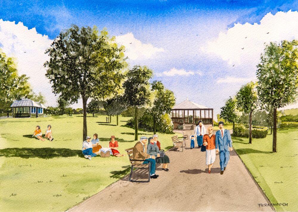 Ashbourne Recreation ground