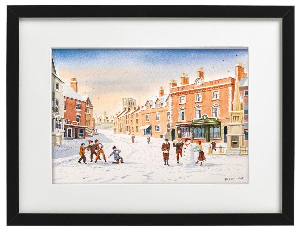 Ashbourne Winter Market Place