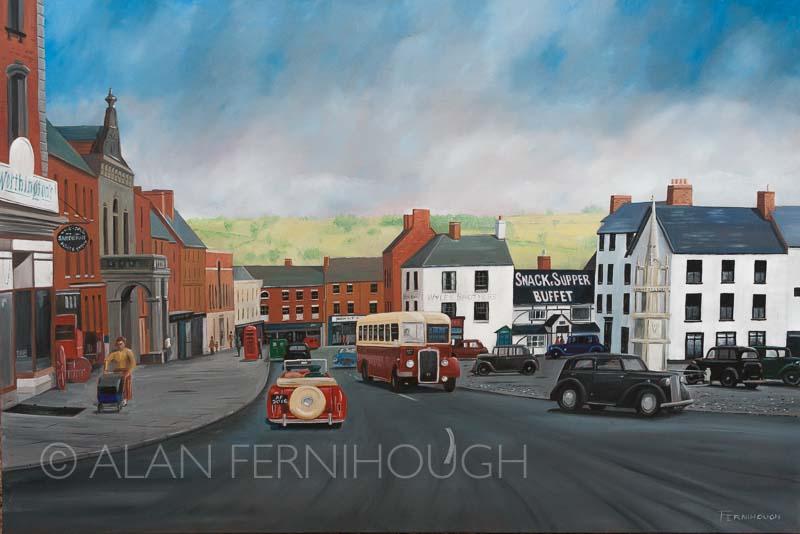 Ashbourne market place - SOLD