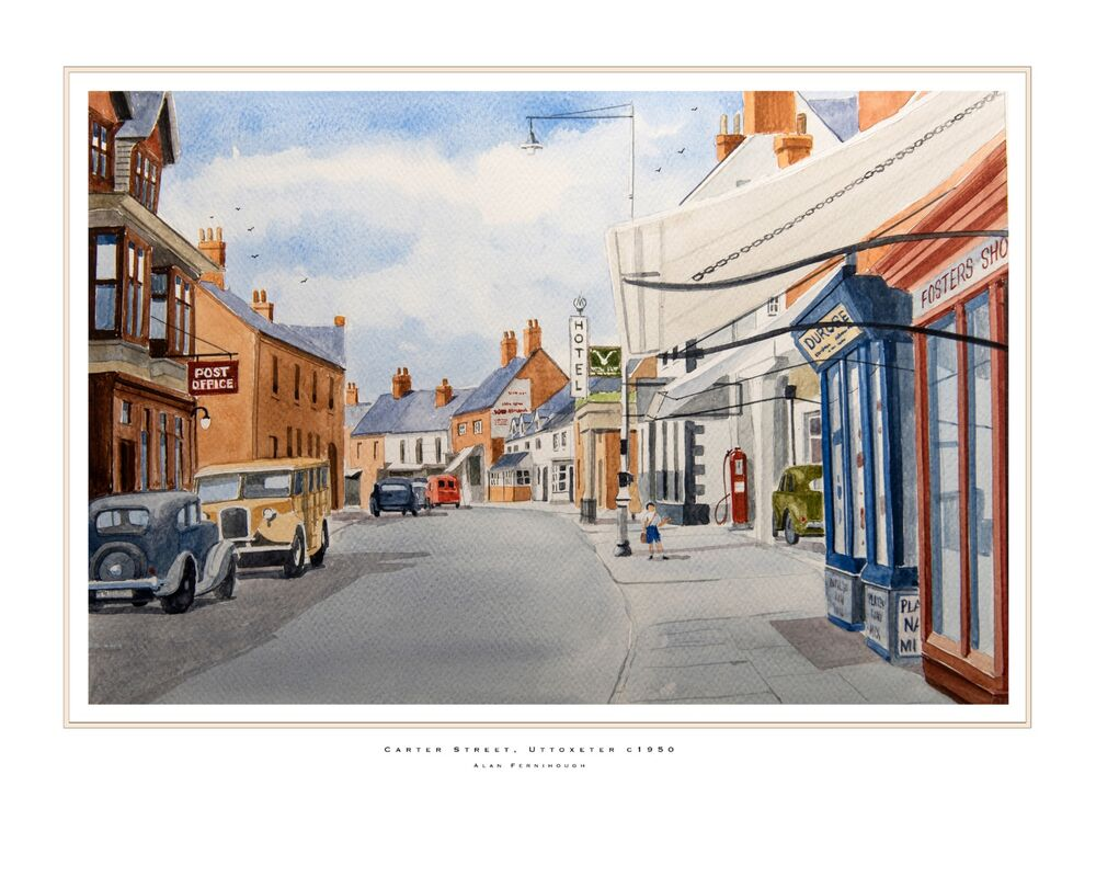 Carter Street 1950