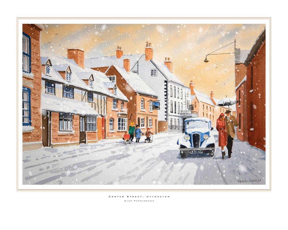Carter Street Winter print