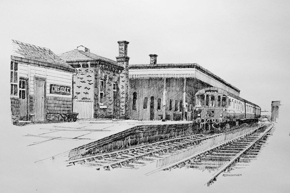 Cheadle Station