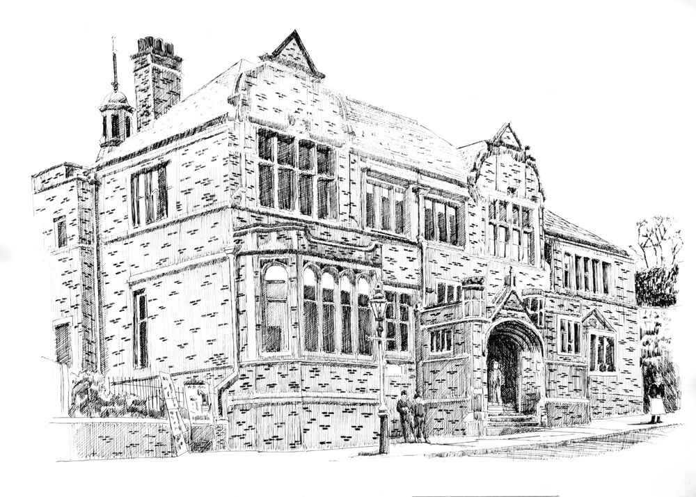 Cheadle old town hall