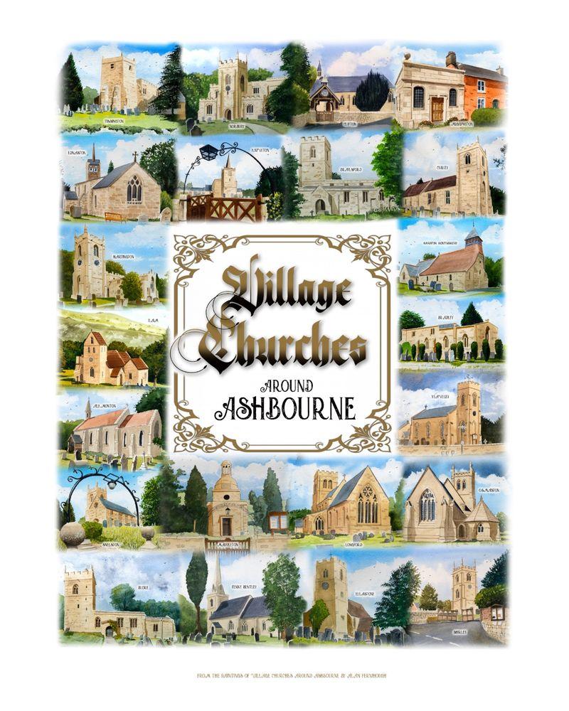 Churches montage
