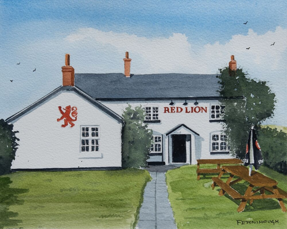 Red Lion, Rodsley
