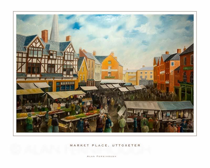 Market Place Uttoxeter