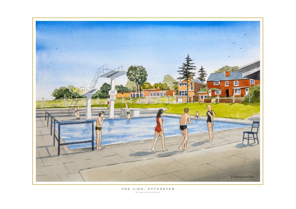 Lido, Uttoxeter