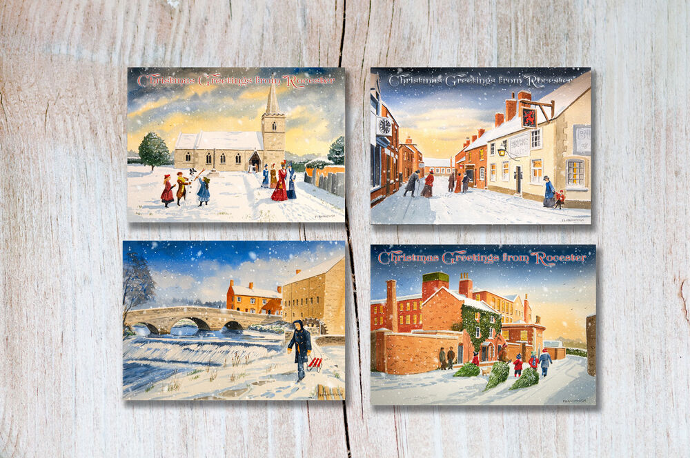 ROCESTER CHRISTMAS CARDS