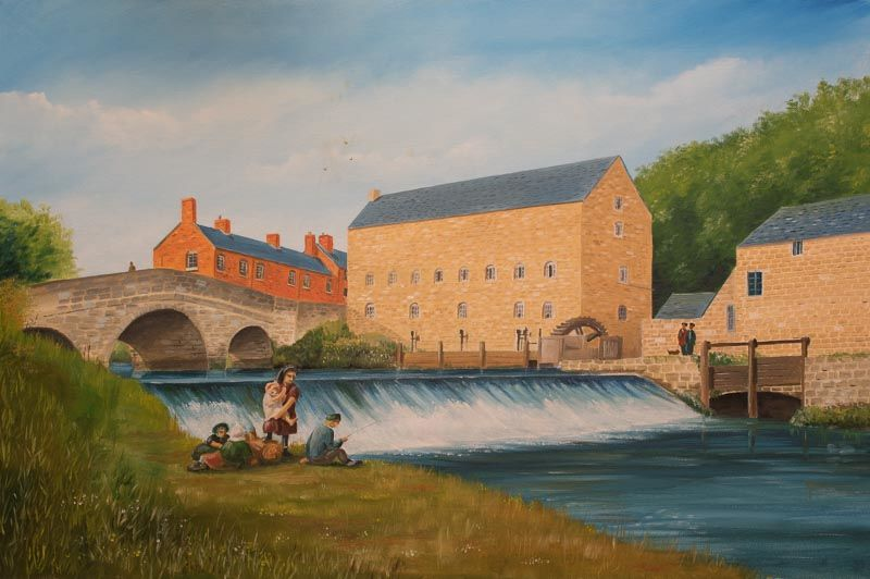 Podmore's Mill, Rocester