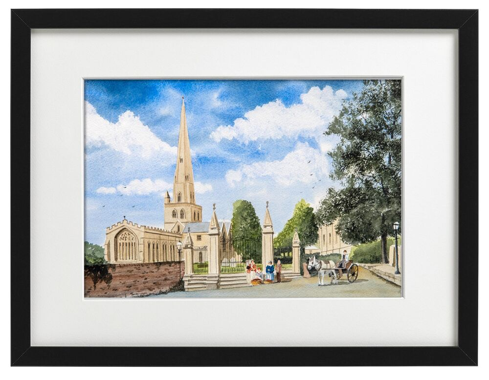 St Oswalds Church, Ashbourne