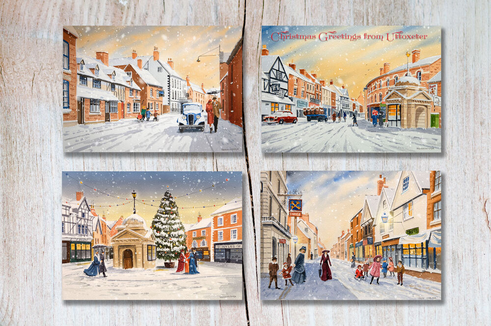 UTTOXETER CHRISTMAS CARDS