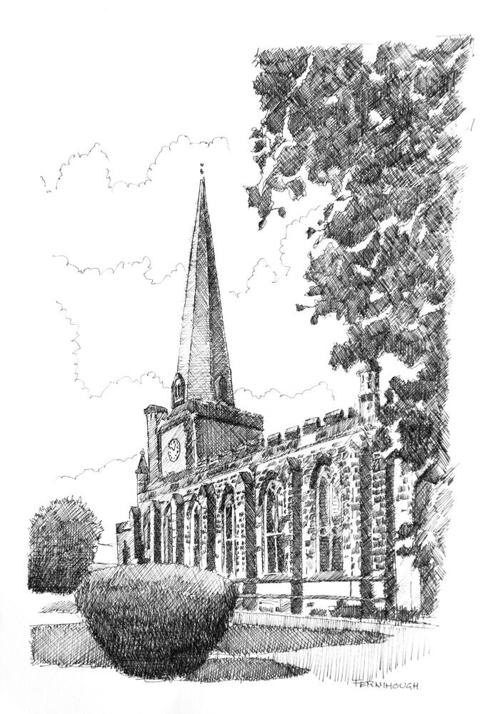 Uttoxeter Church Line2