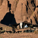 Nomad tent, Bab N'Ali, Morocco