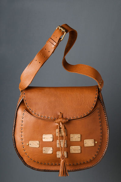 Danica Cosic Design Leather bag