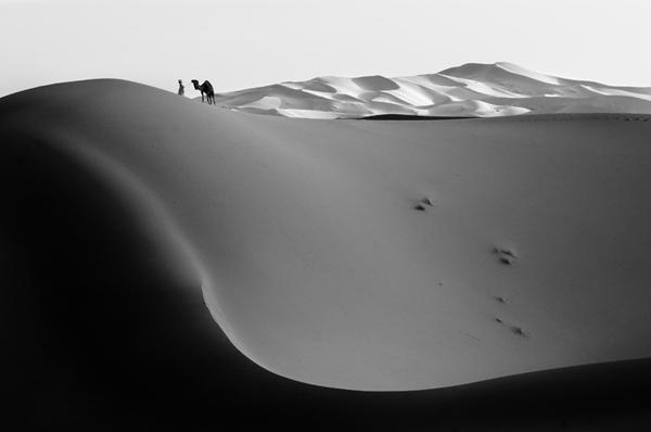 Dark Dune Erg Chebbi