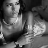 Moroccan fashion model Hanane
