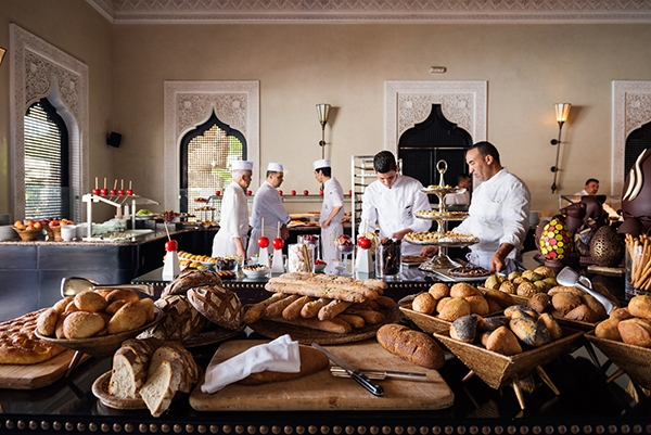 Brunch Buffet, La Mamounia
