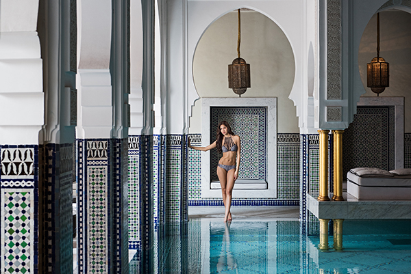 Mamounia indoor pool