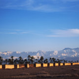 Marrakech Ramparts and High Atlas