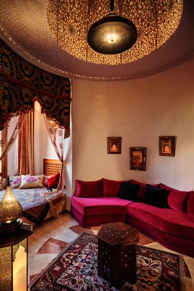 Palais Mehdi salon