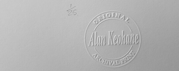 Limited Edition Print Stamp