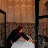 Riad 72 massage room
