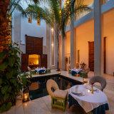 Riad Due courtyard
