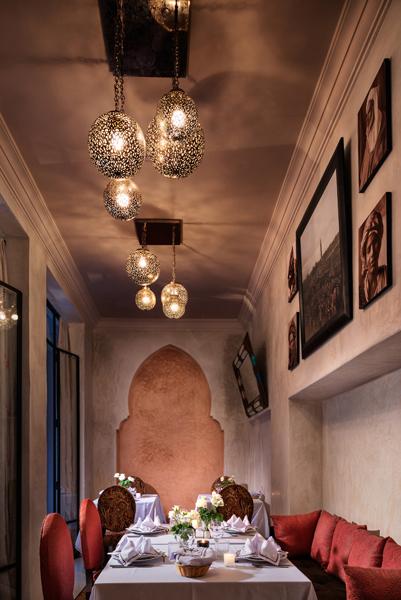 Riad Kheirredine restaurant