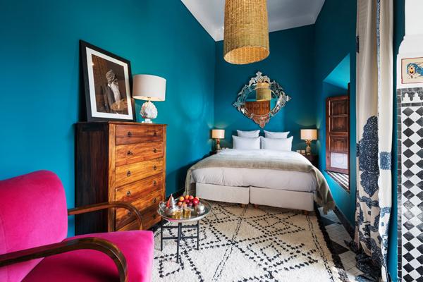 Riad Les Yeux Bleus Bedroom 3