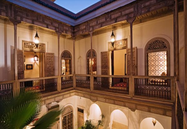 Riad Tzarra Courtyard
