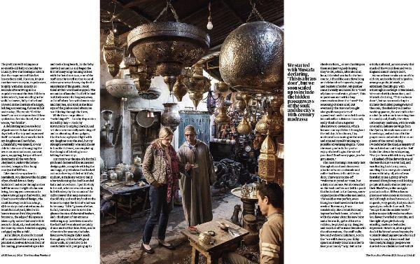 Guardian Weekend Magazine 2014